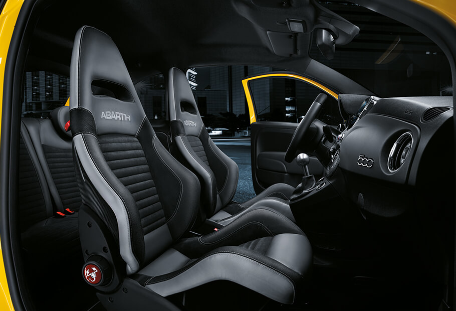 abarth 595 competizione sportlicher kleinwagen performance eines kleinwagens. Black Bedroom Furniture Sets. Home Design Ideas