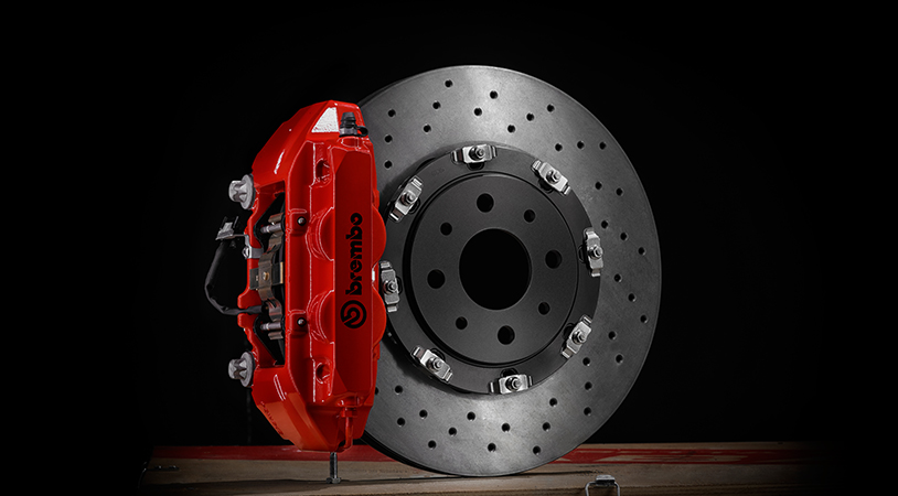 Abarth Brembo Bremsen Kit